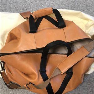 Tumi | Tan Leather Duffle Bag